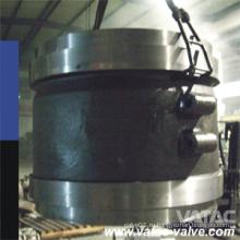 Тихая и безударное а 216 wcb/A351 cf8 же/ss304 в дюймов и классом давления cl150 Межфланцевый обратный клапан
