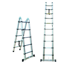 Extension aluminum folding ladder/combination ladder made in China