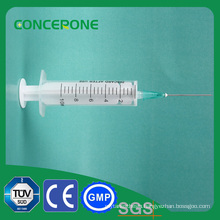 2-Part 10ml Luer Slip Syringe for Sale