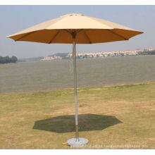 Parasol al aire libre de aluminio de alta calidad del terylene