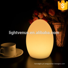 Decorativa LED multi cor mudança de luz da mesa de jantar