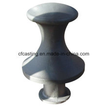 Ductile Iron Casting Bollard with Black Painted