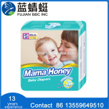Factory Price Soft Disposable Baby Diaper In China