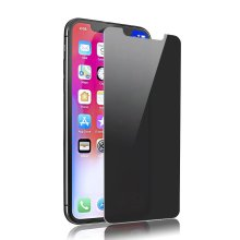 Protection d'écran en verre Privacy 9H pour iPhone X