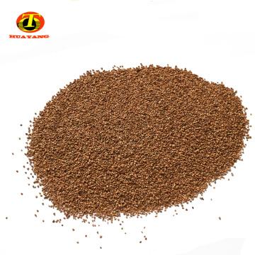 0.5-1.2mm médias filtrants de coquille de noix d'adsorption élevée pour le traitement des eaux usées
