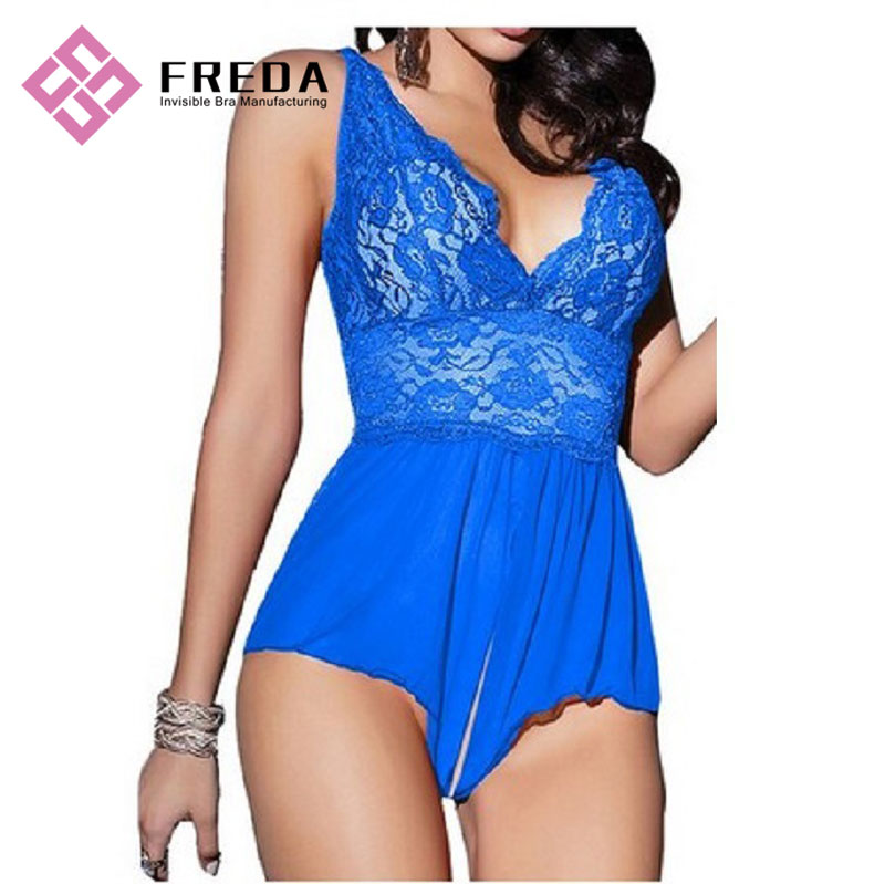 Mulheres Sexy Babydoll Ultra Sexy Nightwear Lace Lingerie