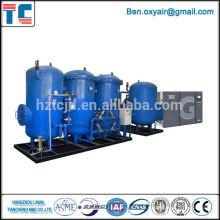 Alta eficiencia de baja consumo de energía de separación de aire de oxígeno y plantas de licuefacción de nitrógeno