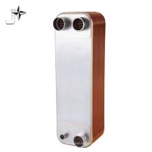 Échangeur de chaleur à plaques brasées compact eau-eau 304 / 316L