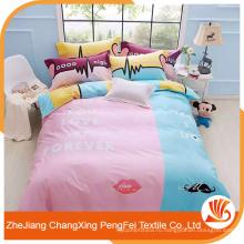Удобный домашний текстиль 100% полиэстер щеткой ткань разогнать