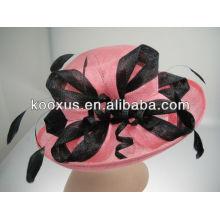 Fashion sinamay hat women's wholesale sinamay hat