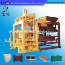 Máquina de fabricação de tijolos comprimidos hidráulicos totalmente rotativos de Habiterra