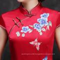 Retro Long Section  Hand Embroidery  Cheongsam