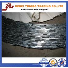 High Quality Lowest Price Cbt-65 Galvanized Razor Barbed Wire