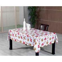 Toalha de mesa impressa em PVC com apoio de flanela (TJ0236-A)