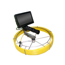 Détection de tube de caméra d'inspection