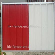 hauring barrier city panel colorbond zaun