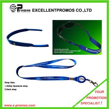Correia promocional do pescoço do poliéster (EP-Y6247-48)