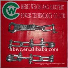 transmission line-galvanized steel clevis