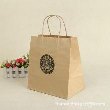 Кастомная сумка из крафт-бумаги