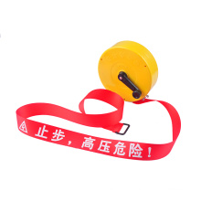 Safety barricade caution tape Retractable warning tape