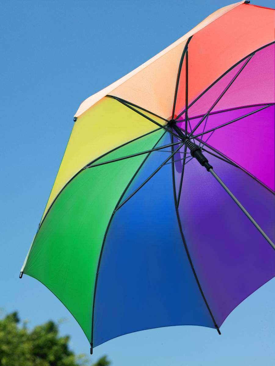 High Quality Outdoor Promotional with rainbow Advertising Umbrella04