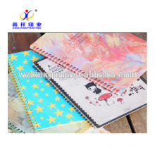 custom different sizes school cheap paper notebook