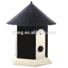 Deluxe Disguised Outdoor Ultrasonic Dog Anti Bark Control Birdhouse