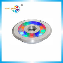 High Power 9W/27W RGB Stainless Steel LED Fountain Waterproof Light