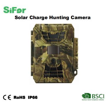 Cámara impermeable de la caza de la energía solar del lapso de tiempo de la visión nocturna del rastro de la fauna al aire libre
