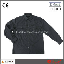 Embroidered Long Sleeve Poly Cotton Twill Work Shirt
