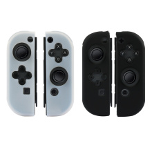 Pure Farbe Switch Joy Cons Silikon Tasche
