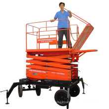 10m Scissor Type Hydraulic Working Lift Platform