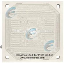 Placa de prensa de filtro de membrana PP 800 de alta presión