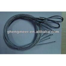 Eslinga de cuerda de alambre prensada
