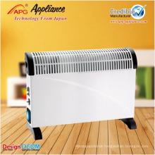 Freestanding electric convector heater, floor convector heater