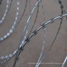ISO9001 Galvanized Razor Wire Bto-22\Cbt-65\Razor Barbed Wire\Concertina Razor Wire (Factory)