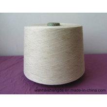 Raw White Modal/Linen 85/15 Blended Yarn for Knitting Ne 30s