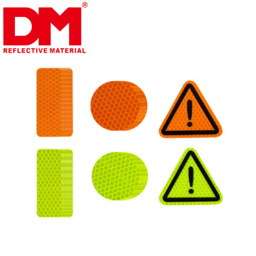 4Pcs/Set Car Door Open Warning Mark Stickers with High Intensity Reflective Traffic Signs tapes