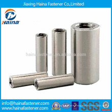 Stainless steel long round coupler nut,long round nut