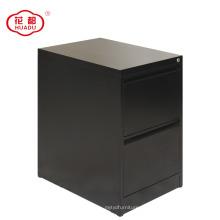 Металлический вертикальный 2 ящика стальной шкаф архива хранения собранный шкаф