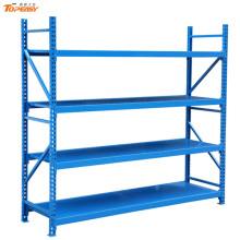 Estantes de almacenamiento de acero de almacén de acero ampliamente utilizados en polvo
