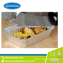Hochwertiger Aluminium Foil Container herausnehmen