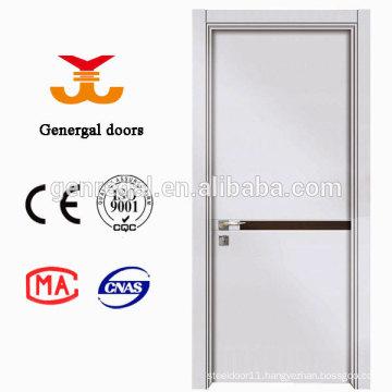 Modern melamine wooden door with solid core