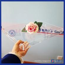 Wholesale Crystal Clear Acrylic Organizer Tray
