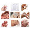 Factory Direct Sell Transparent Cosmetic Makeup hot 2017 silicone sponge