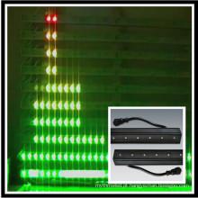 DMX levou barra de luz cor mudando pau