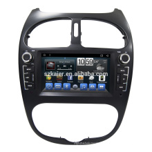 Touch screen auto radio car dvd for peugeot 206 gps navigation system Android 7.1 with Radio wifi