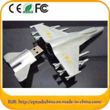 Mini USB do metal da forma do plano de ar com logotipo feito sob encomenda (EM606)