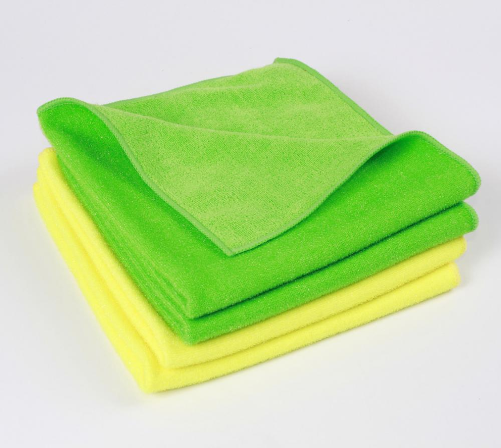Knitted Cloth with PE Scrub