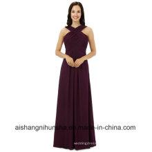Women Chiffon Sleeveless Bridesmaids Dresses Wedding Party Dress